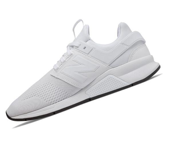 New Balance 247 Lifestyle MS247EW Weiss Herren Sneaker  – Bild 1