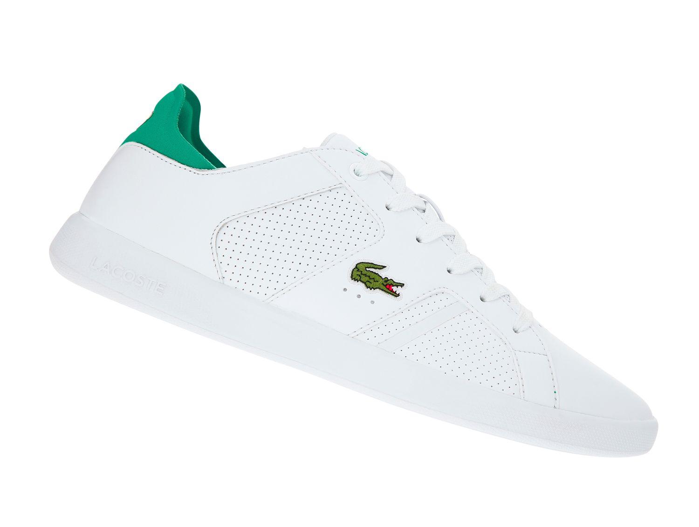 super günstig im vergleich zu Großbritannien Original wählen Lacoste Novas 219 Weiss 737SMA0041082 Herren Sneaker