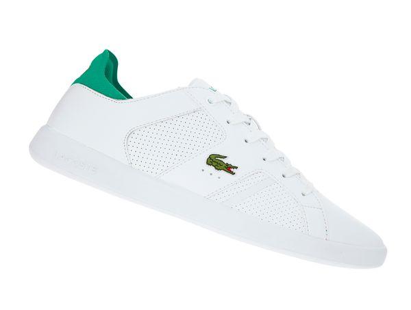 Lacoste Novas 219 Weiss 737SMA0041082 Herren Sneaker