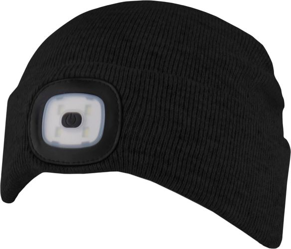 Chillouts ChillLight Hat CLA02 Schwarz Adult LED Mütze – Bild 2