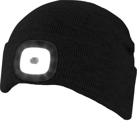 Chillouts ChillLight Hat CLA02 Schwarz Adult LED Mütze – Bild 1
