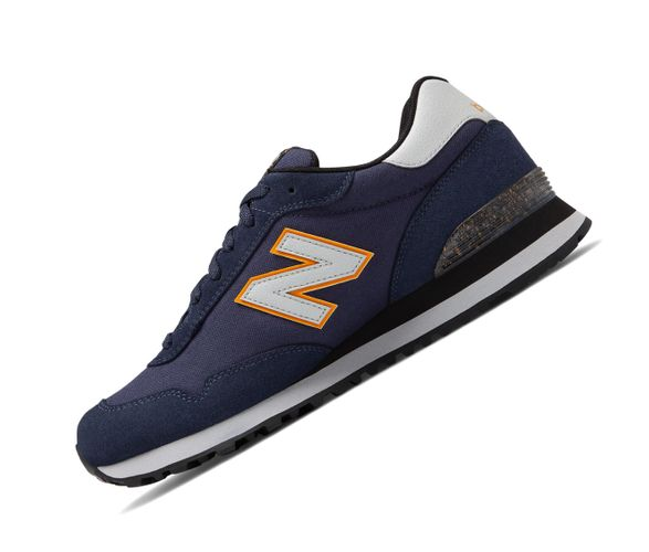 New Balance 515 Lifestyle ML515NBR Navy Retro Herren Sneaker  – Bild 1