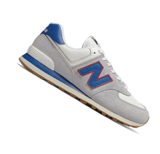 New Balance 574 Classics ML574ERH Light Grey Retro Herren Sneaker  – Bild 2