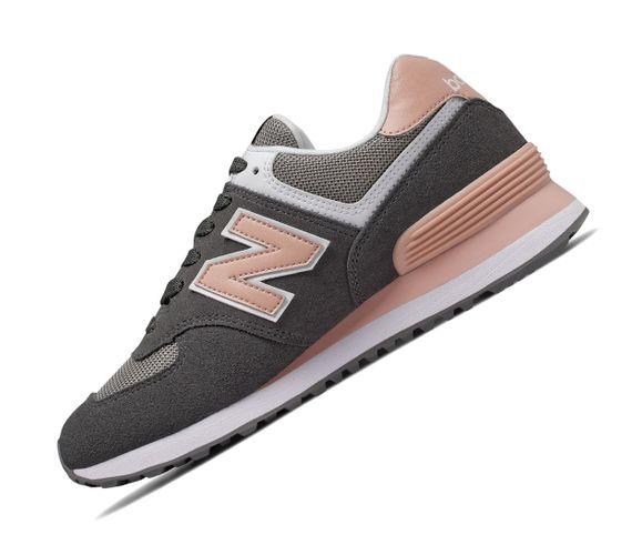 New Balance 574 Classics WL574NDB Grau Retro Sneaker – Bild 1