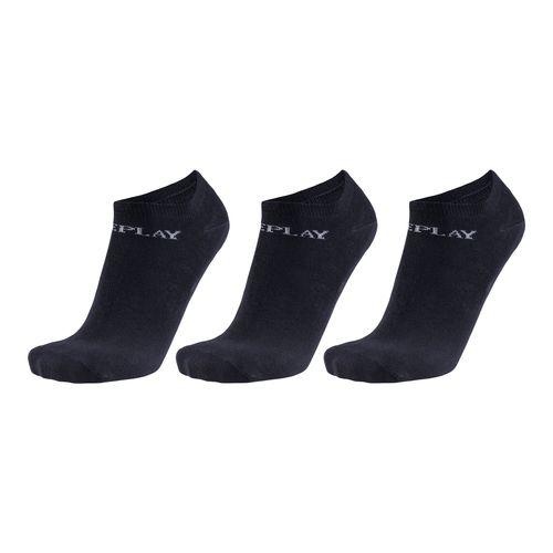 Replay In Liner Basic 3er Socken C100627 Schwarz N126 Herren – Bild 1