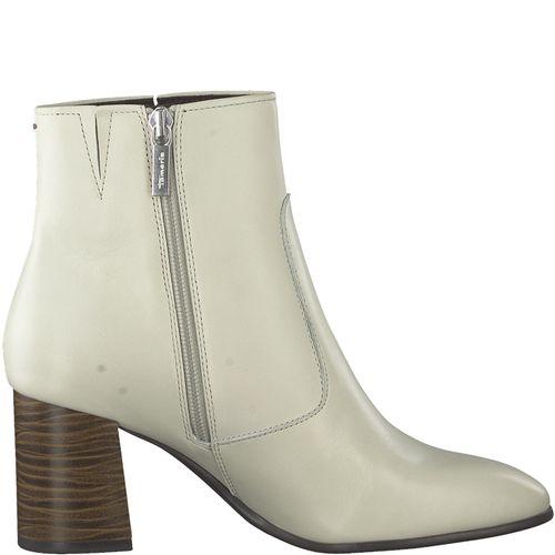 Tamaris Damen Stiefel 1-25076-23 Cream 460 Leder Freizeit – Bild 2