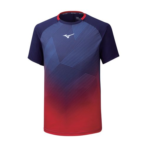 Mizuno Shadow Graphic Tee Herren K2GA9510 bunt T-Shirt