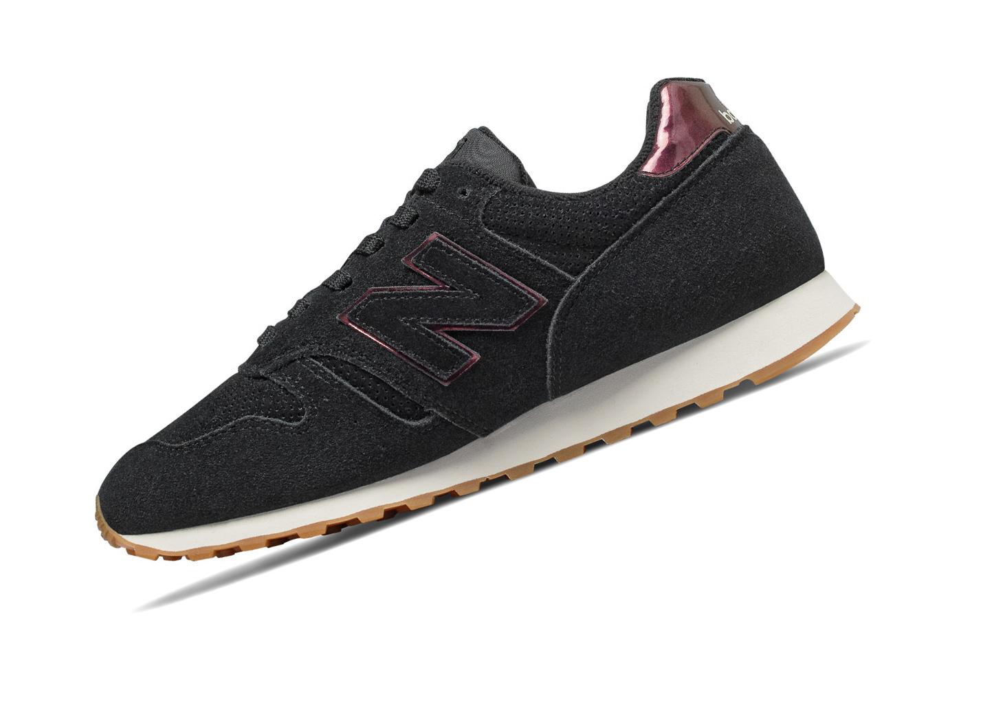 new arrival 68dae 49f14 New Balance Classics WL373WNI Schwarz Retro Sneaker