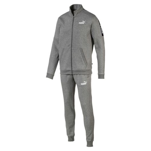 Puma Amplified Sweat Suit 580489 Grau 03 Herren Sportanzug