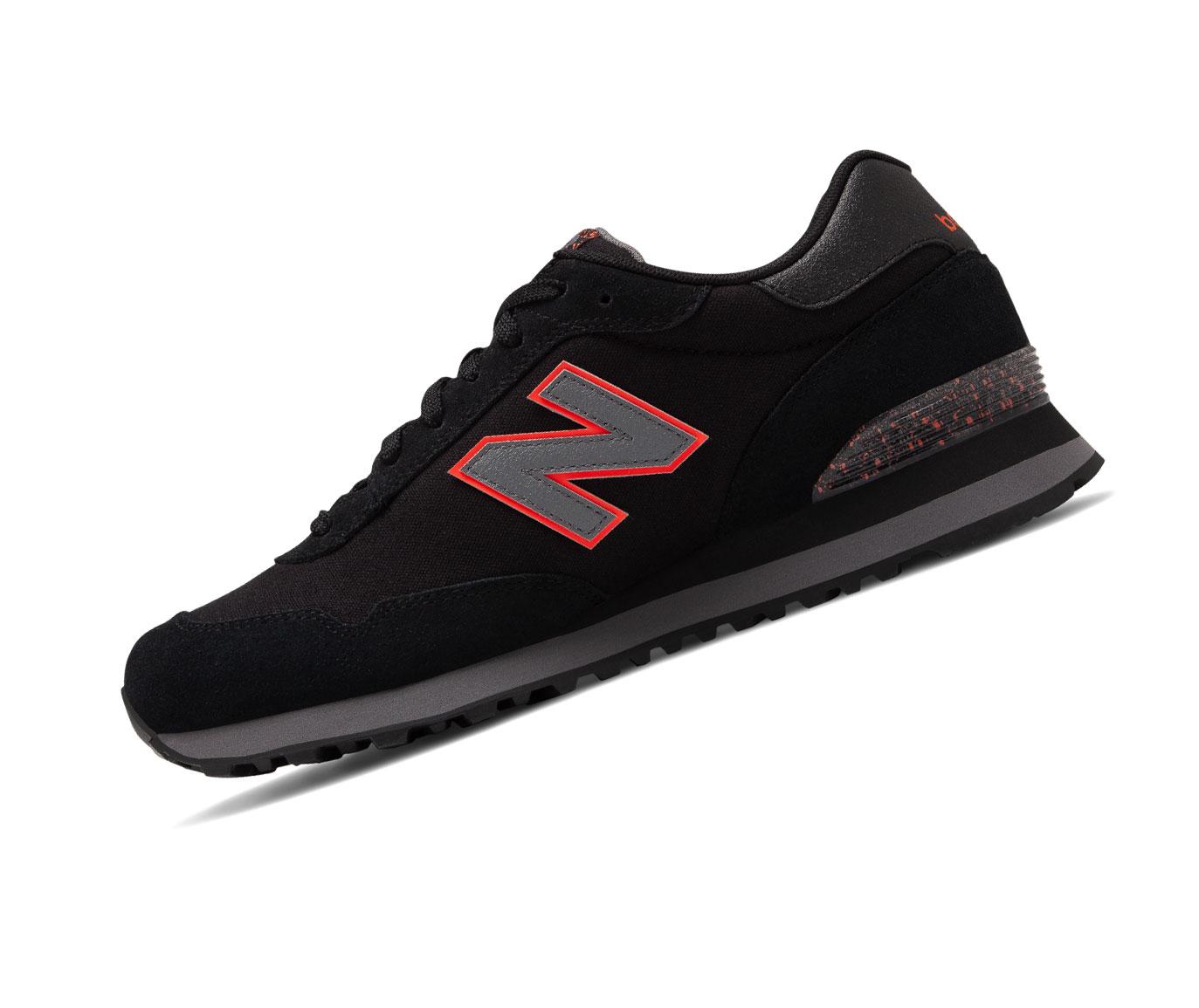 New Balance 515 Lifestyle ML515NBB Schwarz Retro Herren Sneaker