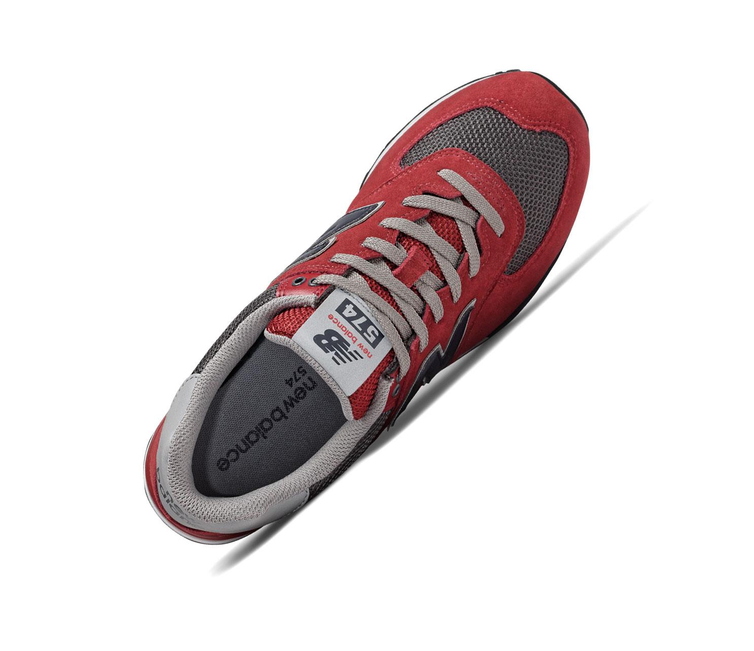 New Balance 574 Classics ML574NFB Rot Retro Herren Sneaker