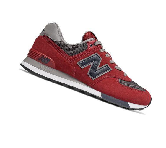 New Balance 574 Classics ML574FNB Rot Retro Herren Sneaker  – Bild 2