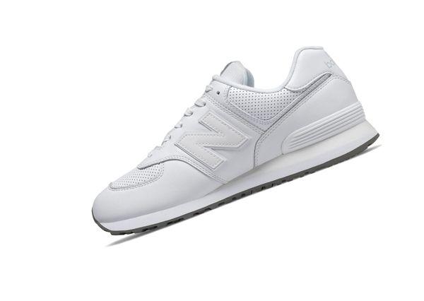 New Balance 574 Classics ML574SNQ Weiss Retro Herren Sneaker  – Bild 1