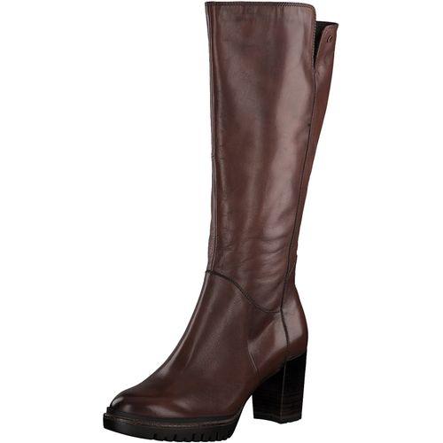 Tamaris Damen Stiefel 1-25616-23 Chestnut 449 Leder – Bild 1