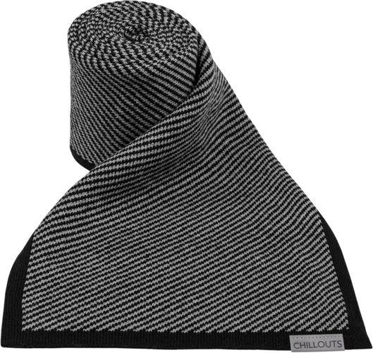 Chillouts Glen Scarf Schwarz Grau 11 Winter Schal