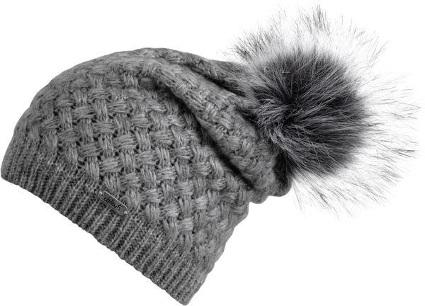 Chillouts Ashley Hat 4068 Grau 21 Bommel Mütze