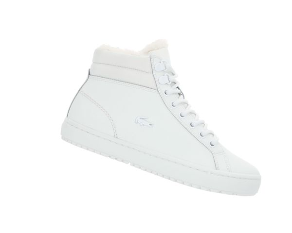 Lacoste Straightset Thermo 419 Weiss 738CFA000518C Leder