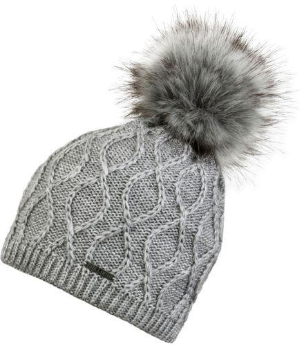 Chillouts Darleen Hat 4160 Grau 22 Bommel Mütze