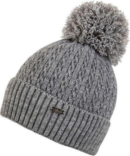 Chillouts Estephania Hat 4149 Grau 21 Bommel Mütze