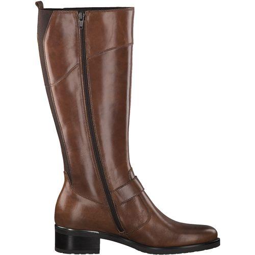 Tamaris Damen Stiefel 1-25553-23 Cuoio 455 Leder – Bild 2