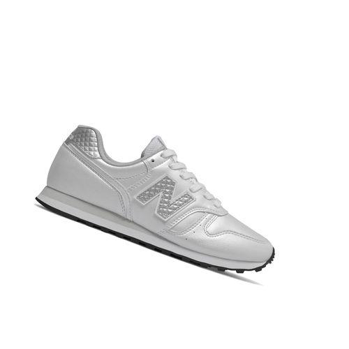 New Balance Classics WL373GD2 Retro Weiss Sneaker – Bild 2