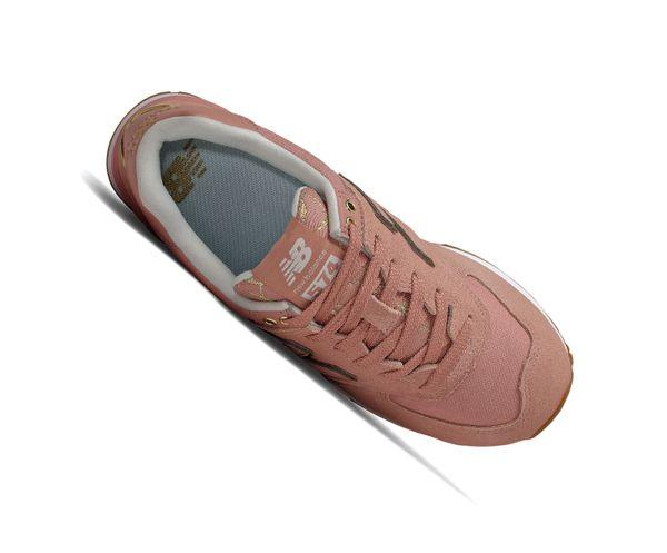 New Balance 574 Classics WL574SOB Pink Retro Sneaker – Bild 3