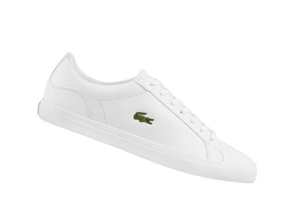 Lacoste Lerond BL 1 Cam Weiss 733CAM1032001 Leder Sneaker