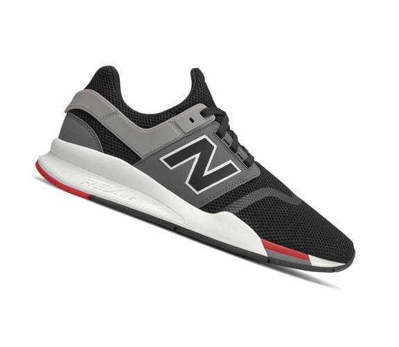 New Balance 247 Lifestyle MS247FB Schwarz Herren Sneaker  – Bild 2