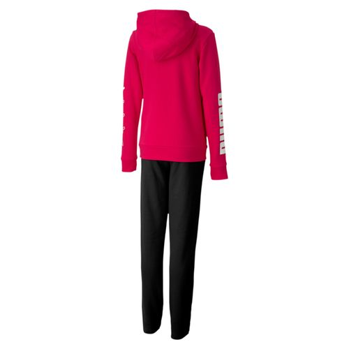 Puma Hooded Sweat Suit 581423 Pink 15 Kinder Anzug – Bild 2