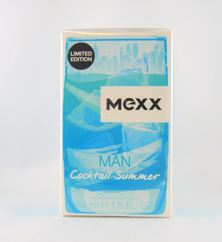 Mexx Man Cocktail Summer Eau de Toilette 30 ml EDT NEU & OVP