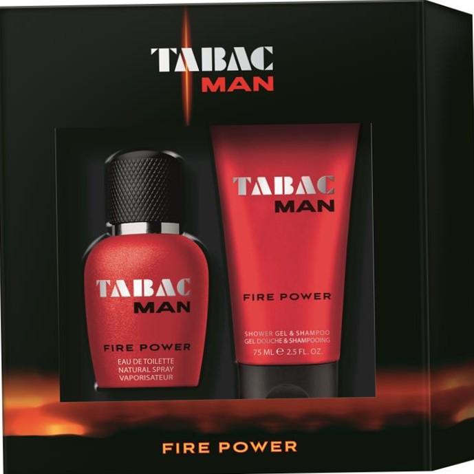 TABAC Man Fire Power 30ml EDT & 75ml Shower Gel / Shampoo