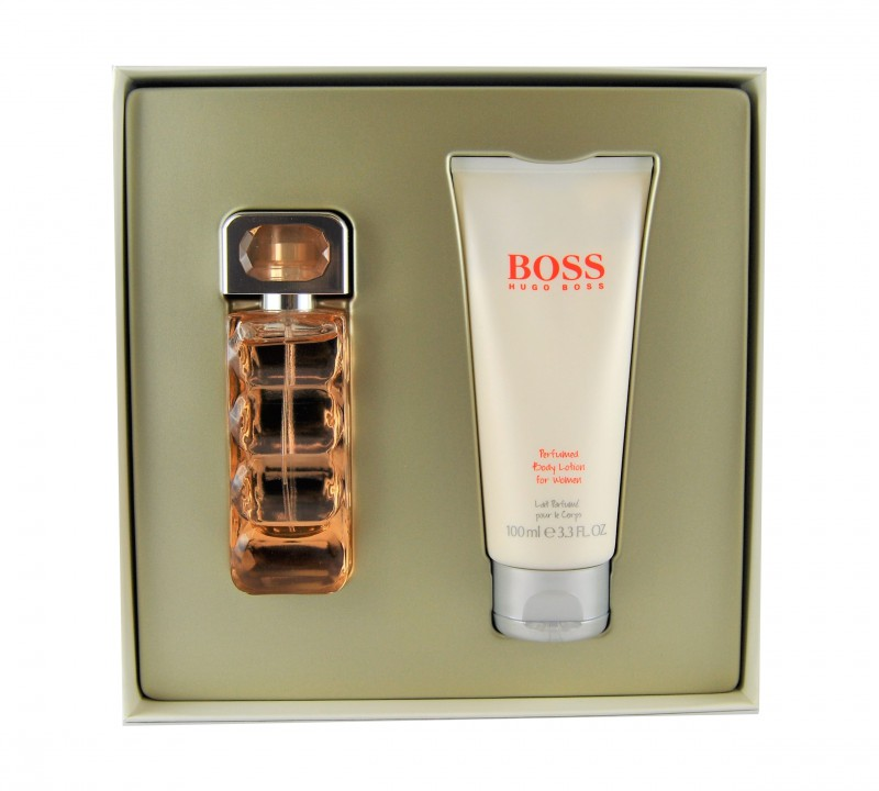 Hugo Boss WOMAN ORANGE 30ml EDT & 100ml Body Lotion Geschenkset
