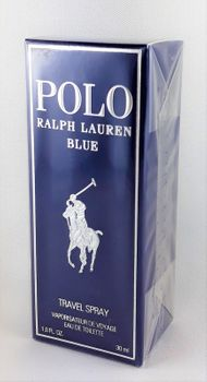 Ralph Lauren Polo Blue Travel 30ml EDT, Eau de Toilette NEU & OVP 001