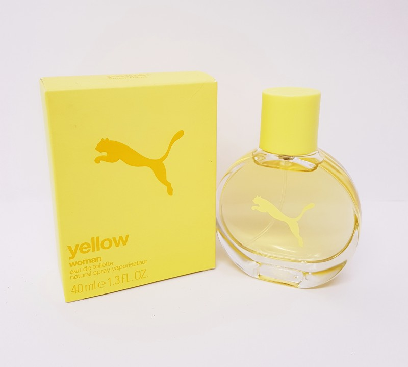 Puma Yellow Woman 90 ml Eau De Toilette EDT NEU