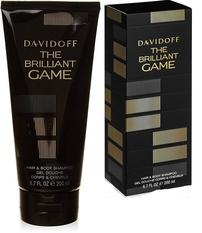 Davidoff The Brilliant Game homme/men, Hair and Body Shampoo 200 ml Neu & OVP