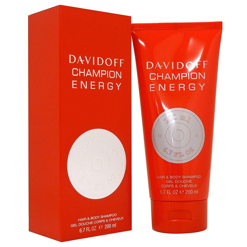 Davidoff Champion Energy Hair & Body Shampoo 200ml NEU & OVP