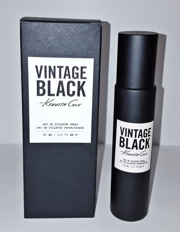 Kenneth Cole Black Vintage Eau de Toilette  30 ml Neu