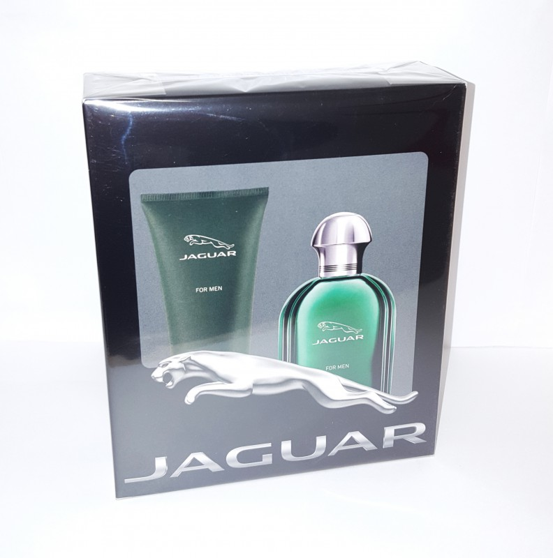 Jaguar For Men Bath Set 100 ml Eau de Toilette & 200 ml Duschgel Neu