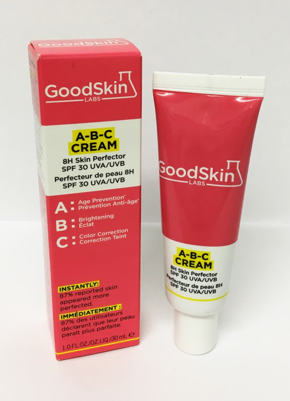Goodskin Labs A-B-C Cream 30 ml 8 h Hautperfektionist SPF 30 Light