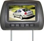 "17,8 (7"") LCD Monitor Kopfstützenset YMPA LCM-KS7S"