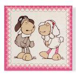 Nici 35754 - Plüschbild Jolly Dean&Sue 25x25cm 001