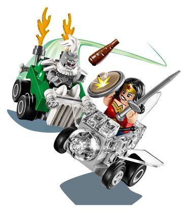 Lego 76070 - Mighty Micros Wonder Woman vs. Doomsday – Bild 4