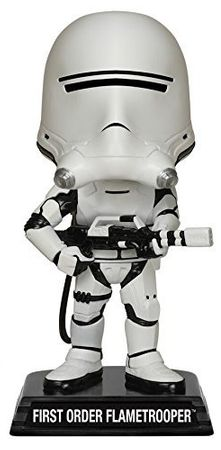Funko 06243 - Wacky Wobblers Star Wars Episode VII The Force Awakens - First Order Flametrooper Wackelkopf, 15 cm – Bild 2