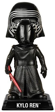 Funko 06244 - Wacky Wobblers Star Wars Episode VII The Force Awakens - Kylo Ren Wackelkopf Actionfigur, 15 cm – Bild 2