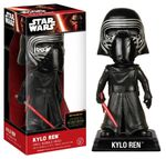 Funko 06244 - Wacky Wobblers Star Wars Episode VII The Force Awakens - Kylo Ren Wackelkopf Actionfigur, 15 cm 001