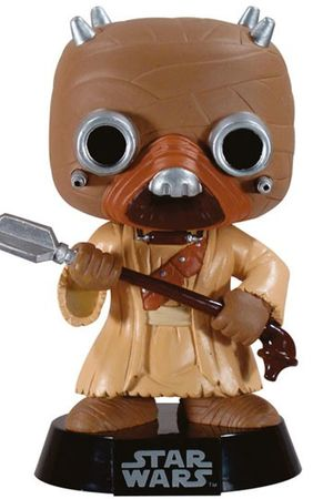 Funko 6042 - Star Wars POP! Vinyl Wackelkopf-Figur Tusken Raider Black Box Re-Issue 10 cm – Bild 1