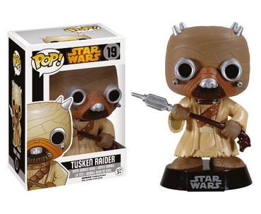 Funko 6042 - Star Wars POP! Vinyl Wackelkopf-Figur Tusken Raider Black Box Re-Issue 10 cm – Bild 2