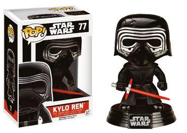 Funko 6233 - Star Wars Episode VII POP! Vinyl Wackelkopf-Figur Kylo Ren Limited Edition 10cm – Bild 1