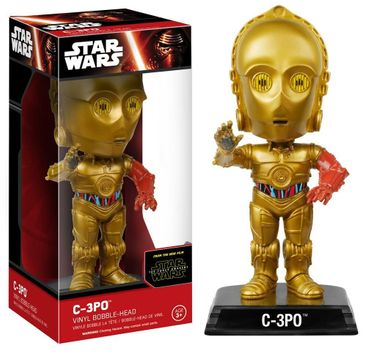 Funko 6240 - Star Wars Episode 7 C-3Po Vinyl Bobble-Head Figure, 15 cm
