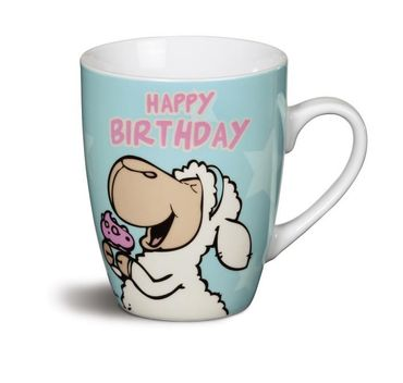 "Nici 38173 - Tasse ""Happy Birthday!"" Porzellan – Bild 1"